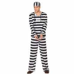 Gevangene/boef clyde verkleed kostuum heren