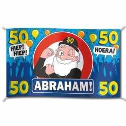 Gevelvlag verjaardag abraham 100 bij 150