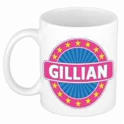 Gillian naam koffie mok / beker 300 ml