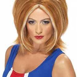 Ginger Power pruik rood haar