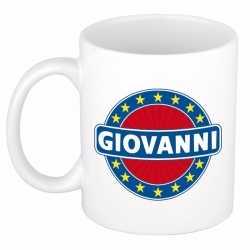 Giovanni naam koffie mok / beker 300 ml