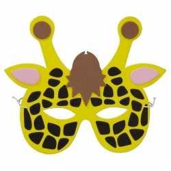 Giraf foam masker kinderen