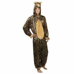 Giraffe dierenkostuum heren