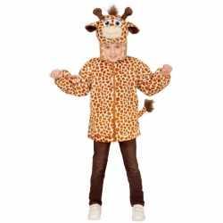 Giraffe verkleed vest kinderen