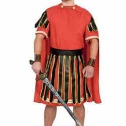 Gladiator kostuum rood heren