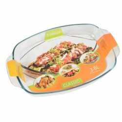 Glazen rechthoekige ovenschaal 3,6 liter