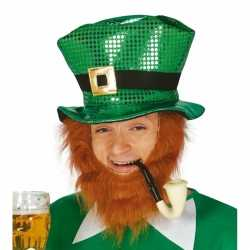 Glimmende st. patricks day hoed
