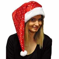 Glitter kerstmuts pailletten