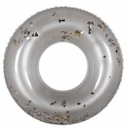 Glitter zwemband zilver 90