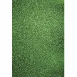 Glitterend groen hobby karton A4