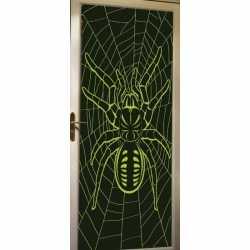 Glow in the dark deurposter spin