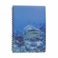 Haaien notitieboek 3d 21cm