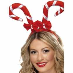 Haarband kerst zuurstokken