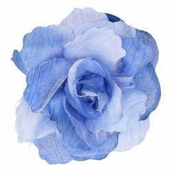 Haarbloem klem blauw