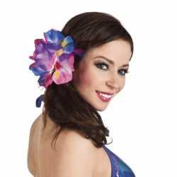 Haarspeld grote Hawaii bloem