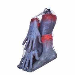 Halloween Afgehakte zombie ledematen