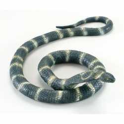 Halloween Buigbare cobra slang van rubber