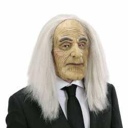 Halloween Butler masker pruik