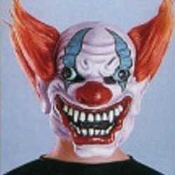 Halloween Crazy clown masker