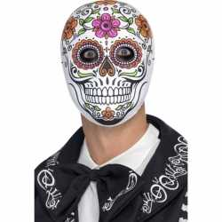 Halloween Day of the dead Senor Bones masker