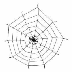 Halloween Decoratie spinnenweb 150