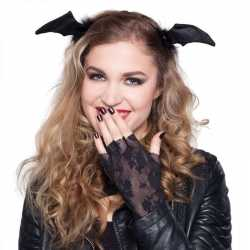 Halloween Diadeem vleermuis vleugels