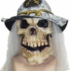 Halloween Doodshoofd masker soldaat