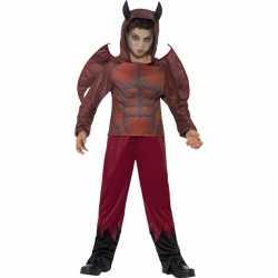 Halloween duivel kostuum kinderen