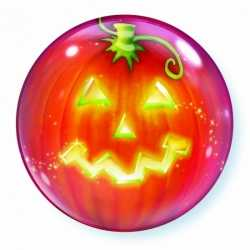 Halloween Folie ballon pompoen 56