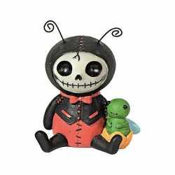 Halloween Furry Bones beeldje lieveheersbeest