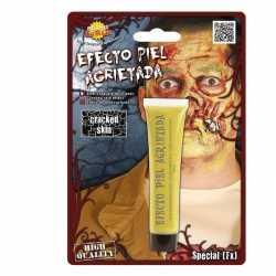 Halloween gebarsten huid schmink geel 28,3 gram