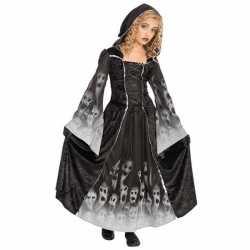 Halloween Gothic zombie jurk kinderen