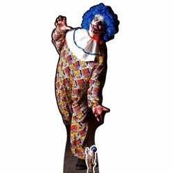 Halloween groot decoratie bord horror clown