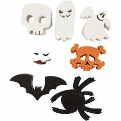 Halloween Halloween decoratie stansjes 400 stuks