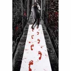 Halloween halloween loper bloed adrukken