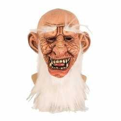 Halloween halloween masker oude man van latex