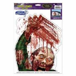 Halloween halloween raamsticker zombie bloed