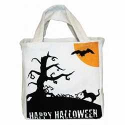 Halloween Halloween snoep tas van canvas