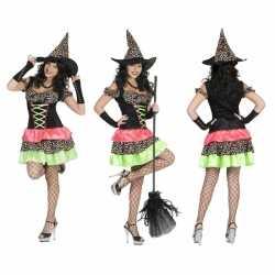 Halloween heksen jurk dames