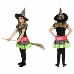 Halloween heksen jurk meisjes