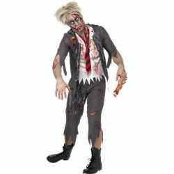 Halloween High school zombie kostuum heren