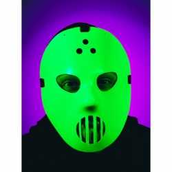 Halloween Hockey masker glow in the dark