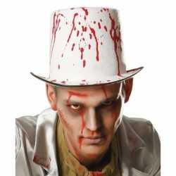 Halloween Hoge hoed bloedspetters