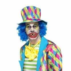 Halloween horror clown gebitje volwassenen