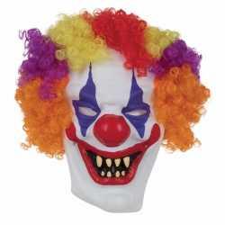 Halloween horror clown masker volwassenen