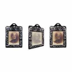 Halloween Horror holografisch portret vrouw