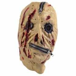 Halloween Horror masker rits
