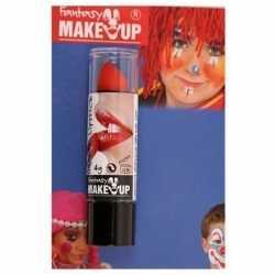 Halloween/horror mat rode lippenstift/lipstick