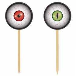 Halloween horror prikkers oogbollen
