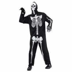 Halloween horror skelet kostuum volwassenen